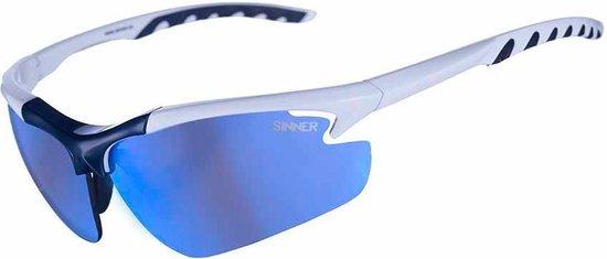 Sinner Firebug SISU-535-30-90B - Zonnebril - Wit/Blauw