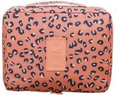 Travel 'Leopard' Toilettas Luipaard | Make Up Organizer/Travel Bag/Reistas | Fashion Favorite