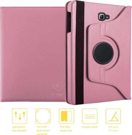 Rotation Case Samsung Galaxy Tab A 10.1 T580 2016 - Rose Gold