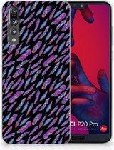 Huawei P20 Pro TPU Hoesje Design Feathers Color