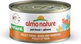 Almo Nature - Tonijn en Kip - Kattenvoer - 24 x 70 g