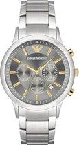 Emporio Armani Zilverkleurig Mannen Horloge AR11047