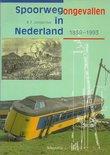 SPOORWEGONGEVALLEN IN NEDERLAND