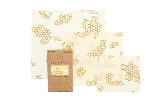 Bee's Wrap Set van 3 (S/M/L)