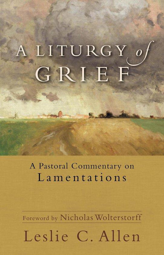 Boek cover A Liturgy of Grief van Leslie C. Allen (Onbekend)