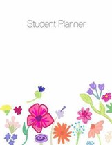 Student Planner, Organizer, Agenda, Notes, 8.5 X 11, Undated, Week at a Glance, Month at a Glance, 146 Pages