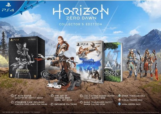 Horizon Zero Dawn - Collector's Edition - PS4