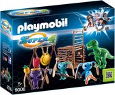 Playmobil Alien krijgers met T-Rex 9006