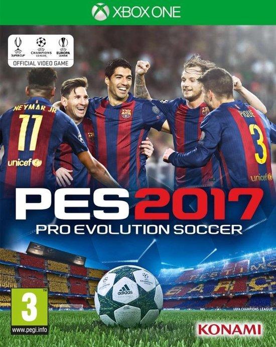 Pro Evolution Soccer PES 2017 XBOX ONE EU PEGI