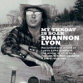 Lyon Shannon - My Throat Is Soar