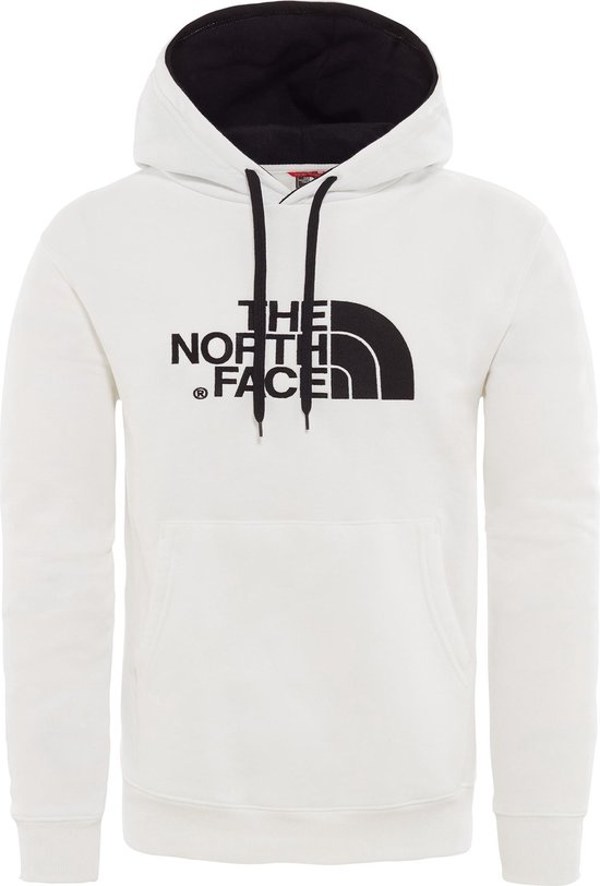 The North Face Drew Peak Pullover Hoodie  Trui Heren - Tnf White/Tnf Black - Maat XXL - The North Face