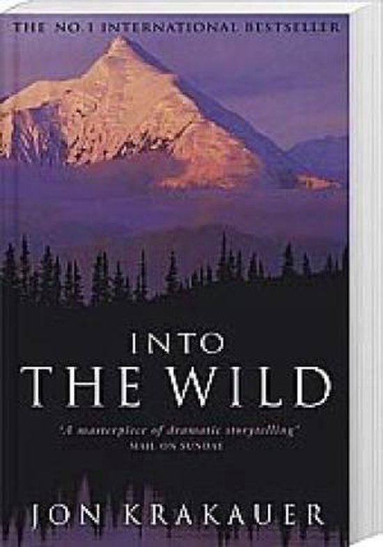 Boek cover Into the wild van Jon Krakauer (Paperback)