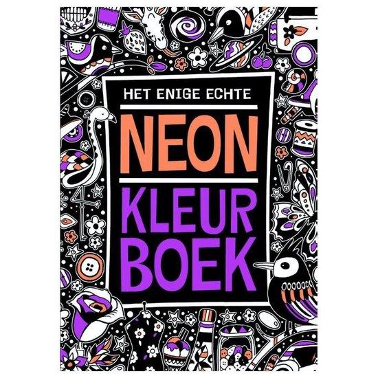 Het enige echte neon kleurboek - none | Readingchampions.org.uk