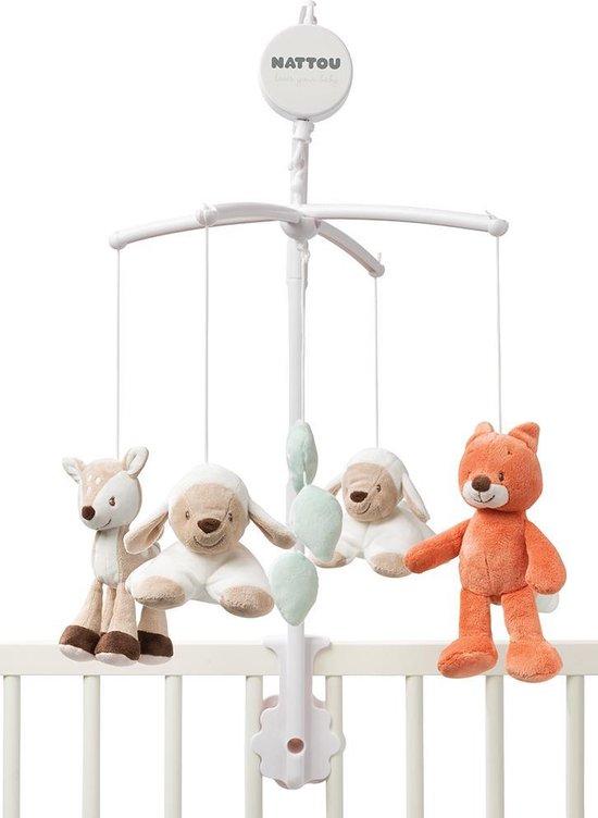 Product: Nattou Fanny en Oscar - Muziekmobiel Mobiel voor baby's, van het merk Nattou