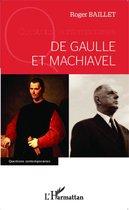 De Gaulle et Machiavel