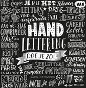 Boek Handlettering doe je zo! + 2 Pentel Wet Erase Krijtstiften