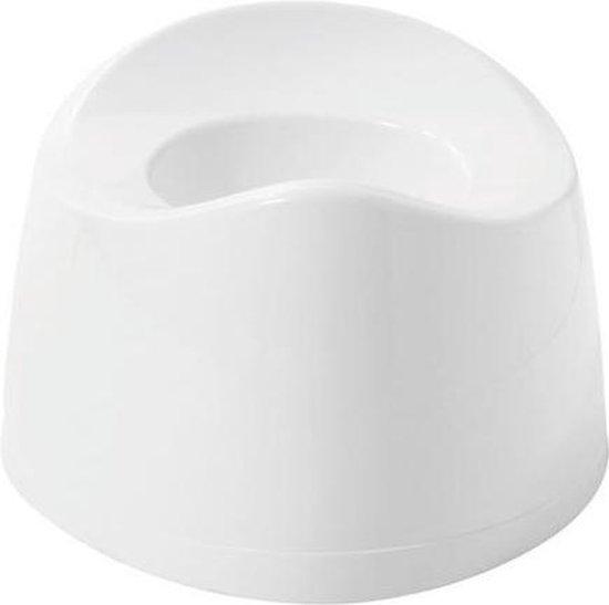 Product: Bébé-jou Plaspotje - Wit, van het merk bébé-jou