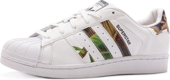 Adidas Superstar Dames Sneakers - Hawaii Print - Damesschoenen - Maat: 41  1/3