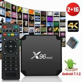 Android Mediaplayer X96 mini 2gb / 16 gb & Kodi 18.4 Leia