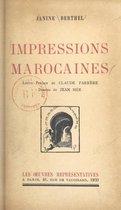 Impressions marocaines