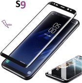 Samsung S9 Glass screen protector Samsung Galaxy 3D Screen protective Glass explosion proof tempered glass Cover Film Zwart