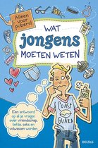 Boek cover Wat jongens moeten weten van Sabine Thor - Wiedemann (Paperback)