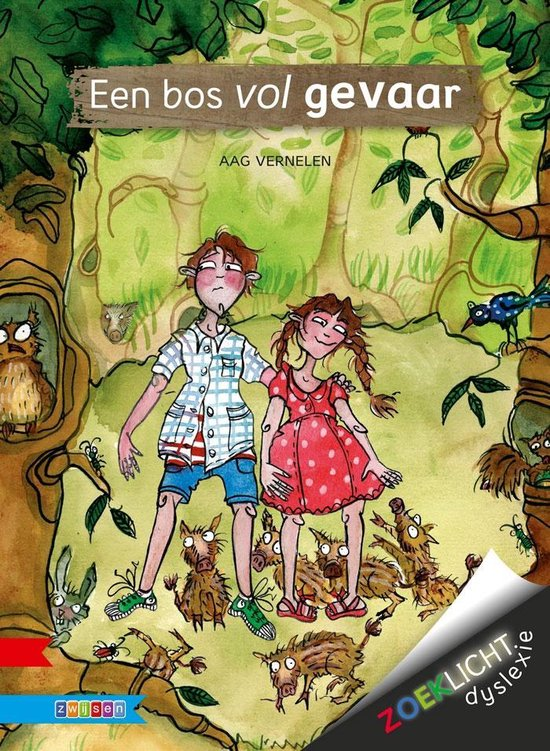 Zoeklicht dyslexie - Een bos vol gevaar - Aag Vernelen | Readingchampions.org.uk