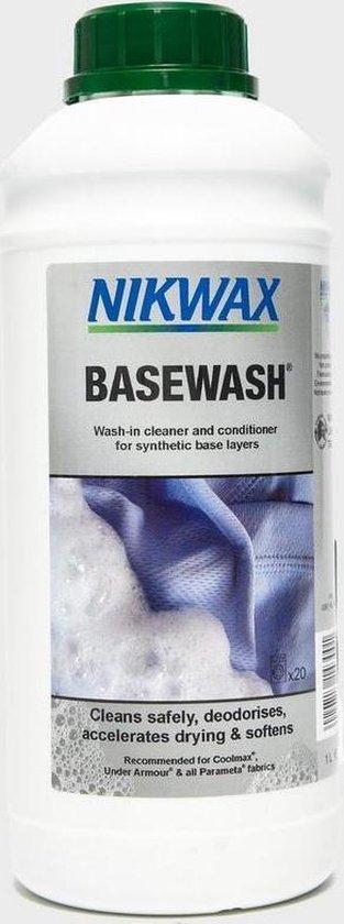 Nikwax Basewash - impregneermiddel - wasmiddel - 1 liter