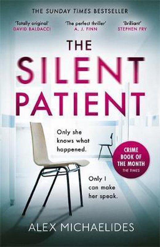 Omslag van The Silent Patient
