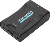 Scart naar HDMI Adapter / Omvormer / Schakelaar / Verloopstekker - Full HD Kabel Converter
