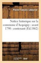 Notice historique sur la commune d'Acquigny