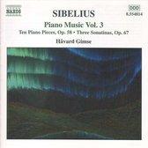 Sibelius: Piano Music Vol.3