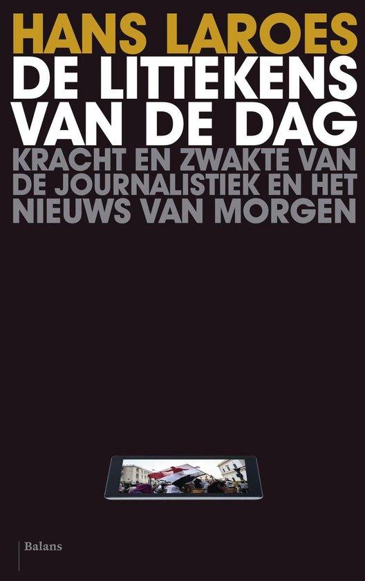 Cover van het boek 'De littekens van de dag' van Hans Laroes