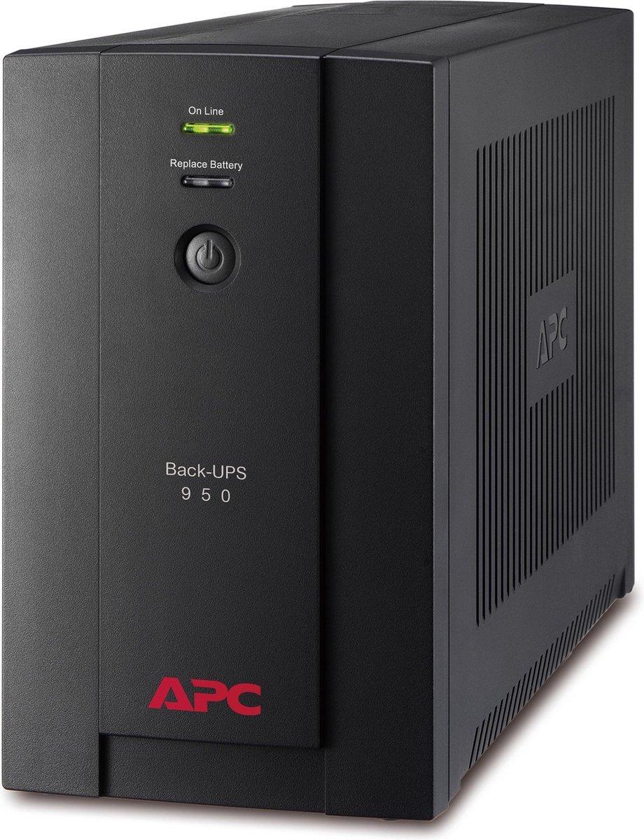 APC Back-UPS 950VA noodstroomvoeding 4x stopcontact, USB