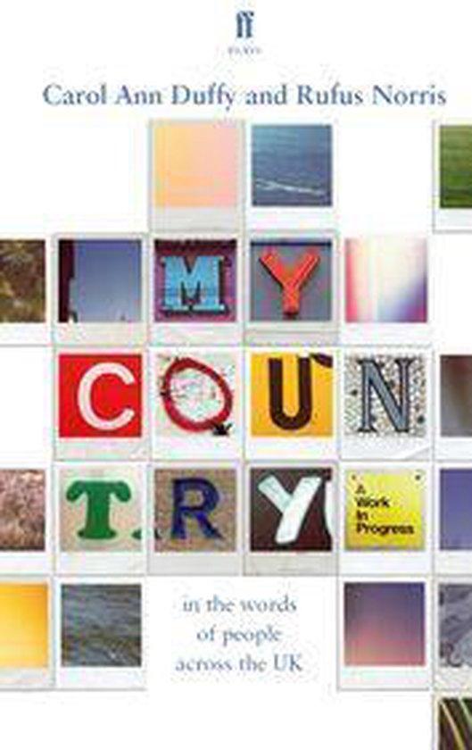 Boek cover My Country; a work in progress van Carol Ann Duffy (Onbekend)
