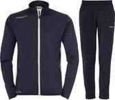 Uhlsport Essential Classic  Trainingspak - Maat 128  - Unisex - blauw/wit