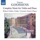 Goossens: Music For Violin