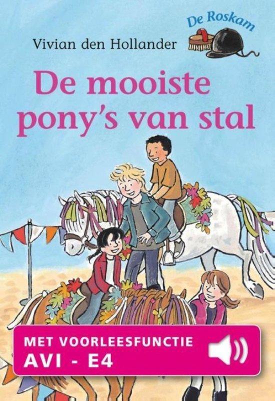 De Roskam - De mooiste pony's van stal - Vivian den Hollander  