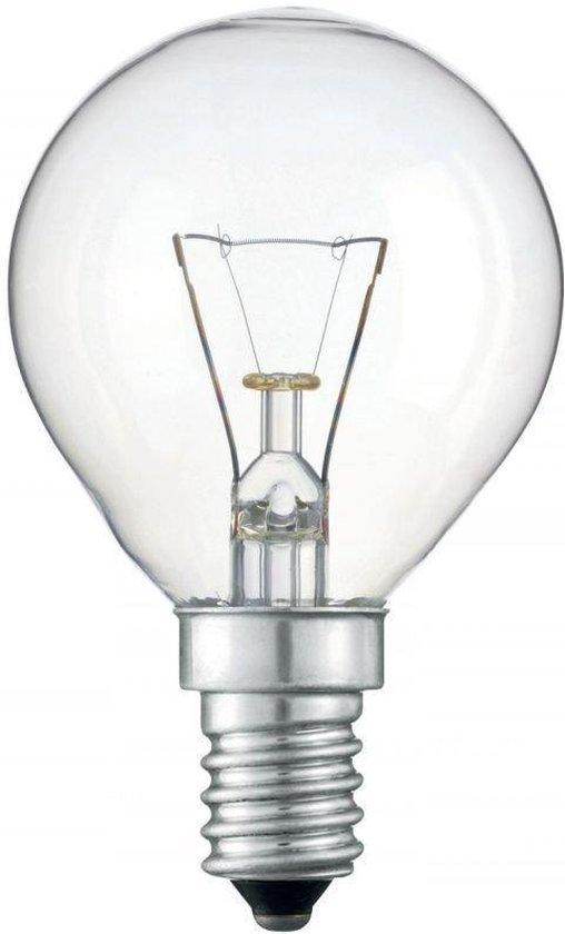 Kogellamp Gloeilamp - 40 Watt Helder E14 - (5 stuks)