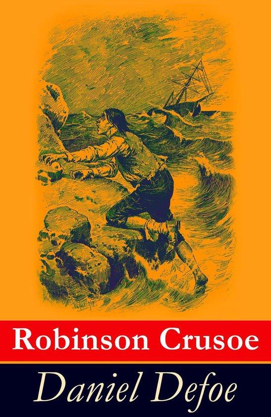 Boek cover Robinson Crusoe van Daniël Defoe (Onbekend)