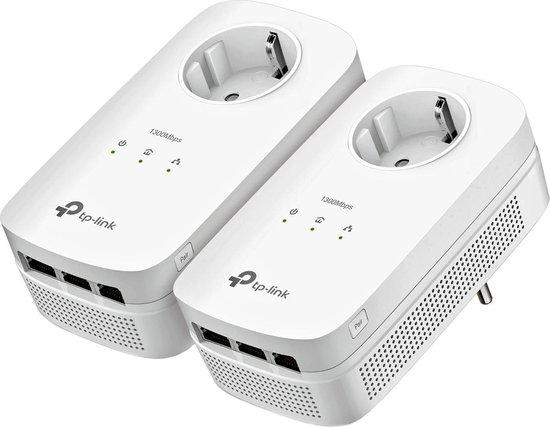 TP-Link TL-PA8030P KIT - Powerline zonder wifi - 2 Stuks - NL