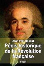 P cis Historique de la R volution Fran aise