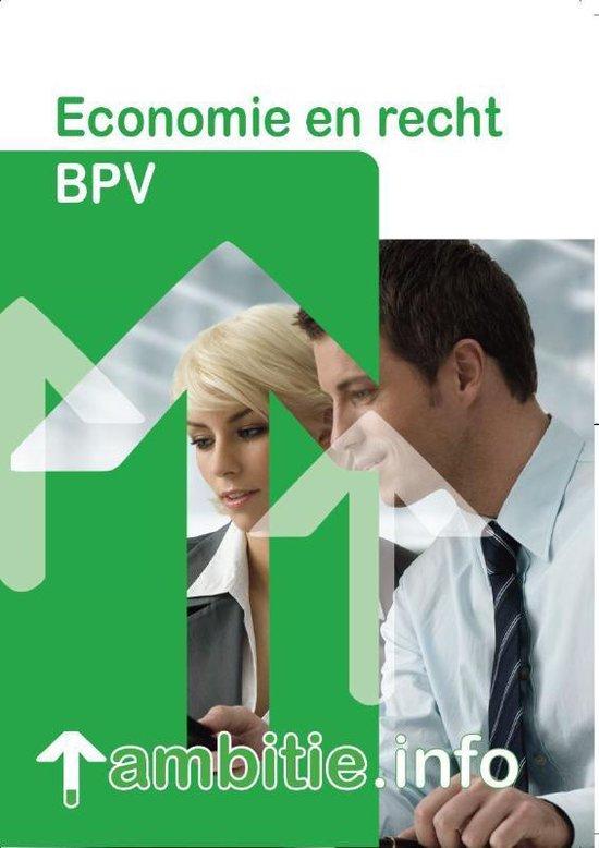 Ambitie.info BPV economie en recht - M. Steenbergen |