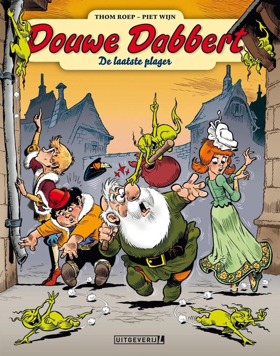 Douwe Dabbert 12 - De laatste plager - Thom Roep |