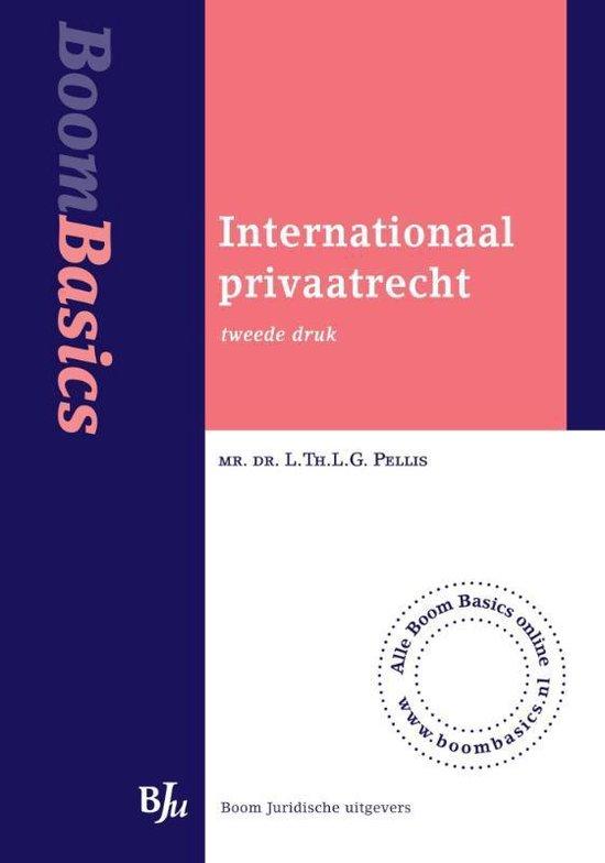 Internationaal privaatrecht - Lthlg Pellis |