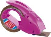 tesapack® Handdispenser Pack-n-Go, dispenser voor verpakkingstape, roze