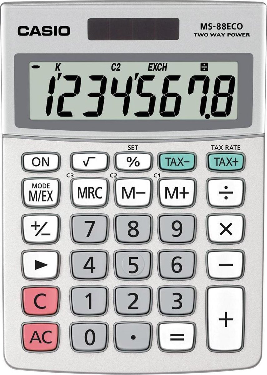 Casio MS-88 ECO - Rekenmachine