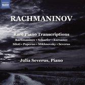 Rare Piano Transcriptions