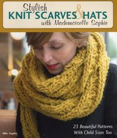 Omslag Stylish Knit Scarves & Hats with Mademoiselle Sophie