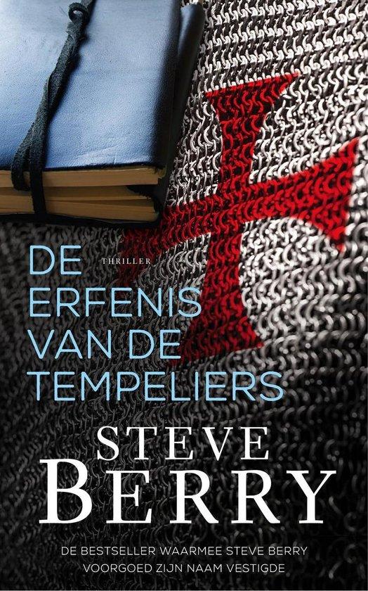 Boek cover De erfenis van de Tempeliers van Steve Berry (Onbekend)